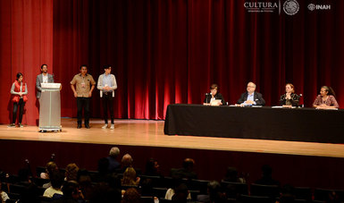 Inició el Primer Encuentro Internacional Estudiantil. Patrimonio e Identidad Cultural