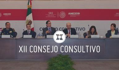 XII Sesión Ordinaria del Consejo Consultivo de la AMEXCID