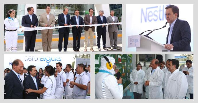 "Inaugura el Secretario Ildefonso Guajardo fábrica ""Cero Agua"" de Nestlé en Lagos de Moreno, Jalisco"