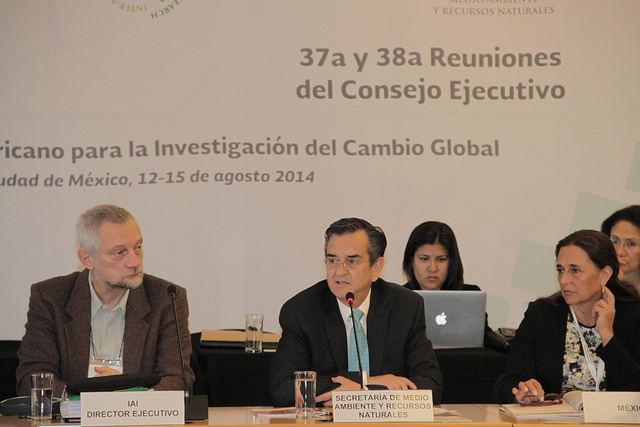Reunión del Consejo Ejecutivo del IAI.