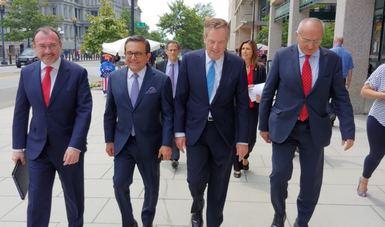 Concluye gira de trabajo de la delegación mexicana en Washington, D.C