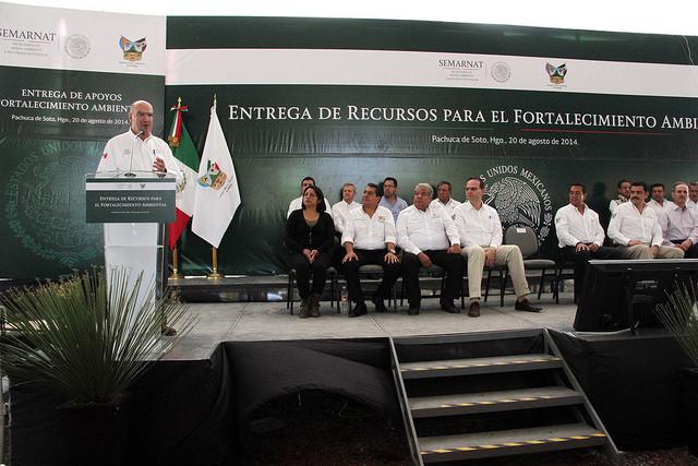 Entrega de recursos a Pachuca, Hgo.