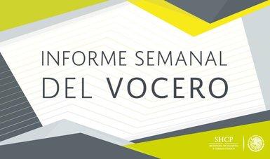 Informe Semanal del Vocero.