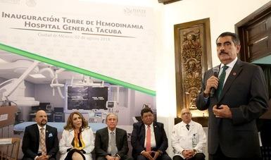 """Inauguran Florentino Castro y Joel Ayala nueva torre de Hemodinamia En El Hospital General """"Tacuba"""""""
