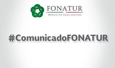 Anuncio de Comunicado FONATUR