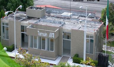 Edificio Terminal del Aeropuerto de Tamuín