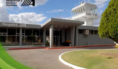 Edificio Terminal del Aeropuerto de Nogales