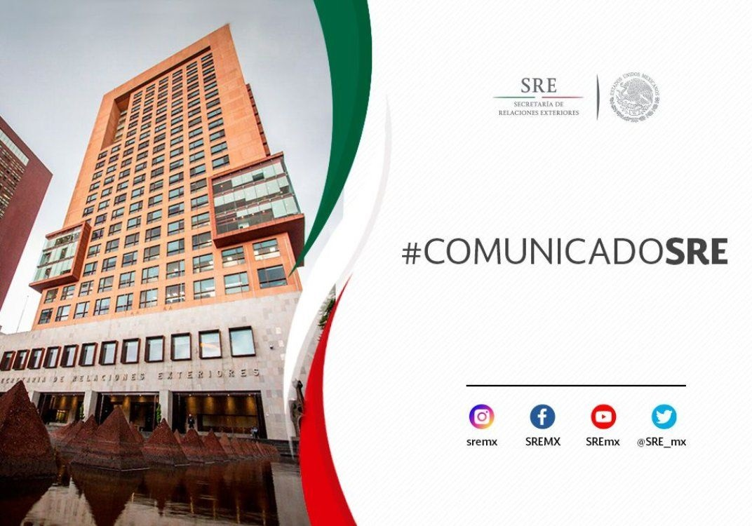 El Gobierno de México apoya la nominación de Michelle Bachelet como nueva Alta Comisionada de las Naciones Unidas para los Derechos Humanos