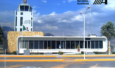 Edificio Terminal del Aeropuerto de Tehuacán