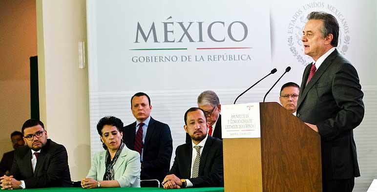 El Gobierno mexicano anuncia su Primera Licitación de 14 bloques en aguas someras como parte de la Ronda Uno.