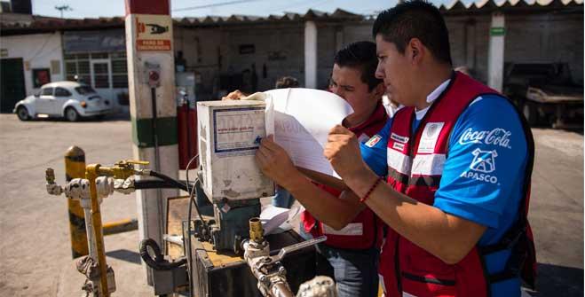 Clausura la SENER estación de carburación en Ecatepec, Estado de México