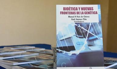 Libro de Bioética y nuevas fronteras de la genética.