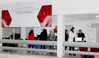 Stand de la CONAMED en el VIII SIMPOSIO INTERNACIONAL de Banco de Sangre de Cordón Umbilical y Medicina Regenerativa.