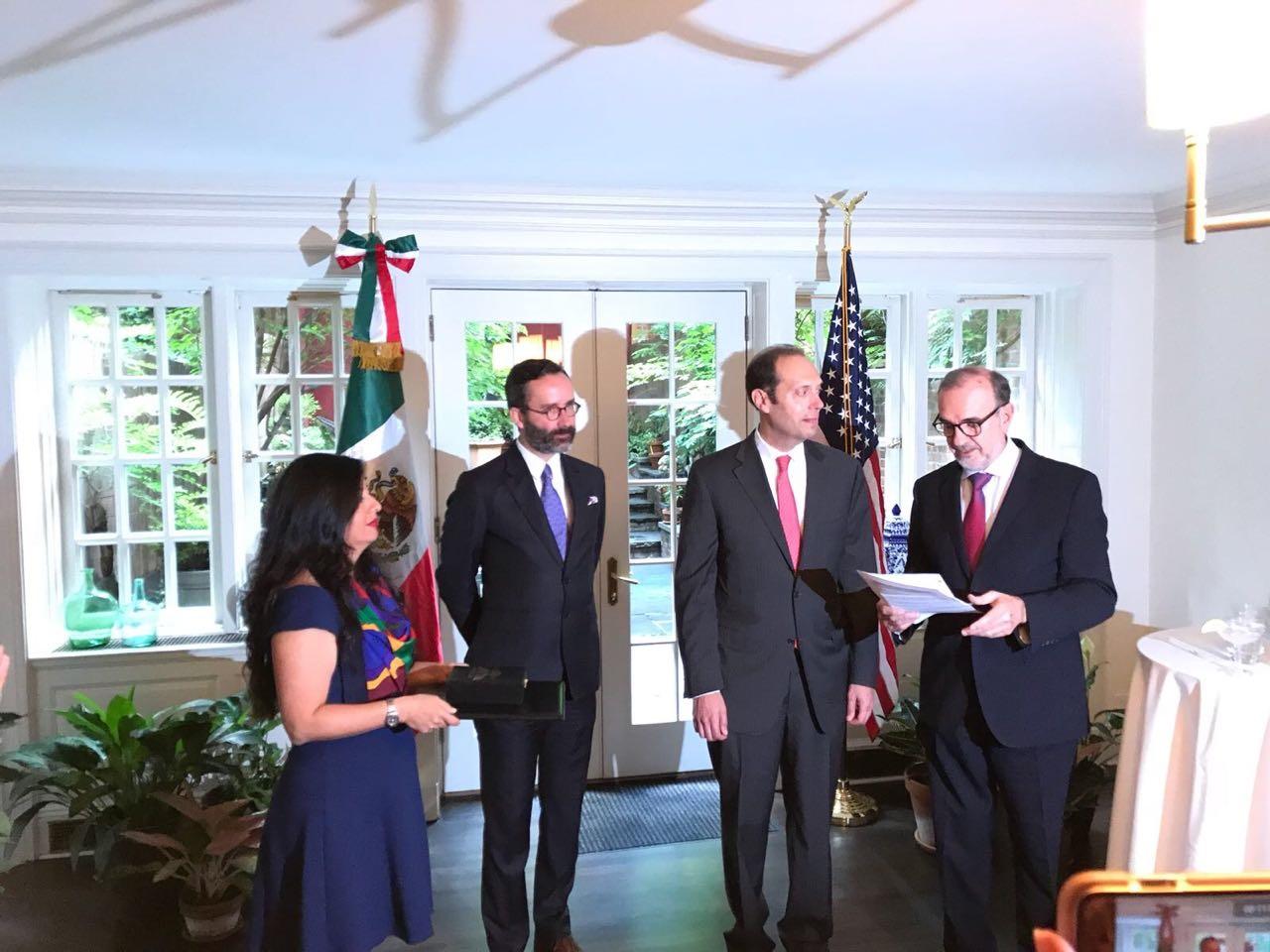 El Subsecretario para América del Norte realizó una gira de trabajo a Nueva York