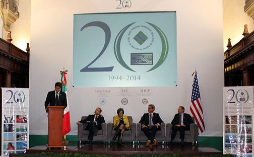 El subsecretario Cuauhtémoc Ochoa en la Comisión de Cooperación Ecológica Fronteriza (COCEF)