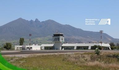 Panorámica del Aeropuerto Internacional de Tepic