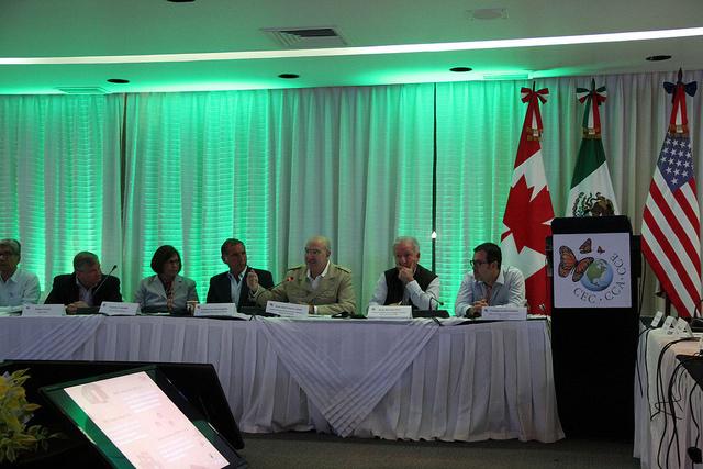 El Secretario Juan José Guerra Abud en la Comisión de Cooperación Ambiental (CCA)