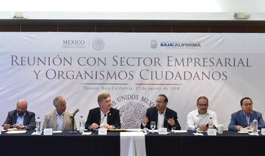 Refrenda Gobierno de la República apoyo en materia de Seguridad en Baja California: Navarrete Prida