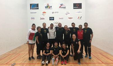 La Selección Mexicana de Raquetbol se coronó como campeón del XIX Mundial de la especialidad, donde además se colgó  dos oros, dos platas  y los títulos en equipo femenil, equipo varonil y general.