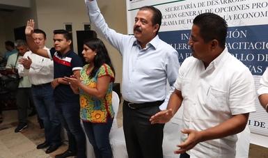 El gobierno de la República respalda las capacidades productivas de los mexicanos para superar las carencias Eviel Pérez Magaña