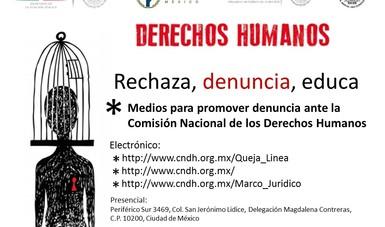 Medios que se pueden utilizar para realizar una denuncia ante la Comisión Nacional de los Derechos Humanos