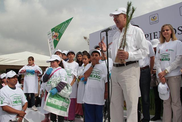 El Secretario Juan José Guerra Abud en la jornada de Limpiemos México