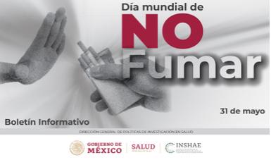 Día Mundial de NO fumar, 31 de Mayo