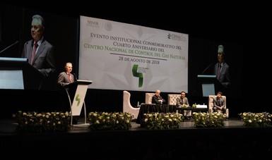 4° Aniversario Centro Nacional de Control del Gas Natural.