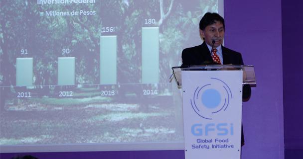 La Secretaría de Agricultura, Ganadería, Desarrollo Rural, Pesca y Alimentación (SAGARPA) duplicó en lo últimos dos años los recursos para acciones de inocuidad en el sector agroalimentario