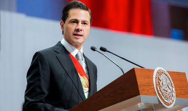 El Primer Mandatario destacó que, al concluir la Administración, habrá cumplido con 97 por ciento de los compromisos que estableció con la ciudadanía en 2012.