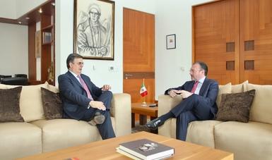 Continúa proceso de transición en Secretaría de Relaciones Exteriores