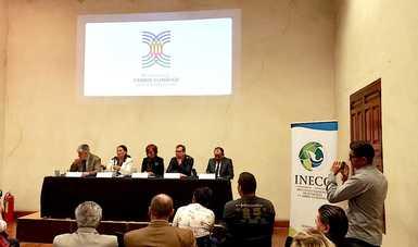 Conferencia de prensa sobre el Tercer Encuentro Nacional de Cambio Climático