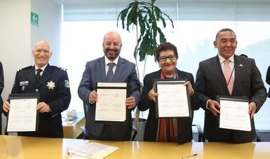 CNS y CONALEP suscriben convenio de colaboración para ofrecer oportunidades laborales y de estudios en materia de seguridad