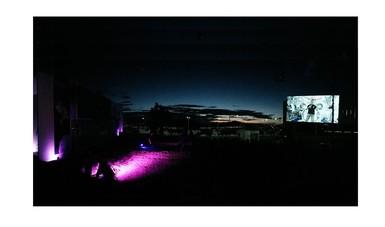 Una panorámica de este evento en Hidalgo, con una multitud asistente.