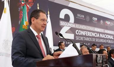 Secretarios de Seguridad de las Zonas Noroeste y Noreste del país, fortalecen lazos de coordinación con el gobierno de la república.