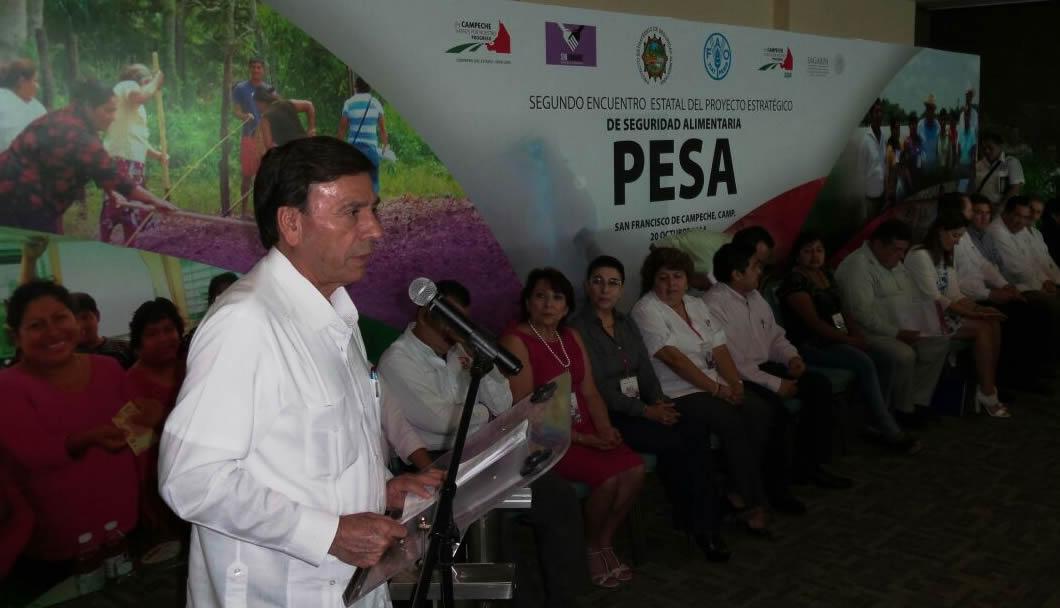 Entrega SAGARPA 30.8 mdp del PESA a productores de Campeche