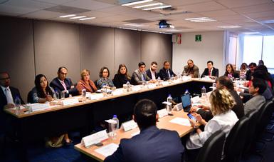 Instalan en SFP Subgrupo de Trabajo del GAN en materia de Beneficiario Final