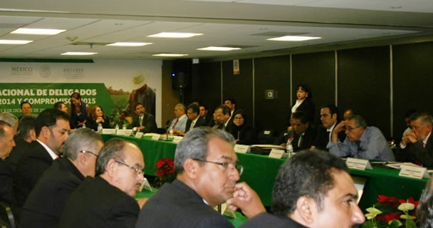 Reunión de delegados.