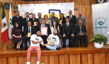 """CONALEP nacional participa en """"Karavana de Boteo Un Kilo de Ayuda"""""""
