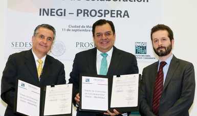 Comunicado INEGI-PROSPERA