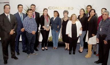 Participantes del Curso-Taller de las Comisiones Estatales de Arbitraje Médico de Baja California, Tlaxcala, Sonora y Estado de México.