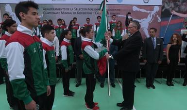 Participará en el Campeonato Mundial de Cadetes y Juniors, que se desarrollará  del 15 al 23 de septiembre en Jesolo, Italia.
