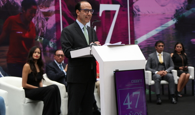 DISCURSO DEL SUBSECRETARIO DE EDUCACIÓN BÁSICA JAVIER TREVIÑO CANTÚ EN EL MARCO DE LA CELEBRACIÓN DEL 47 ANIVERSARIO  DE CONAFE
