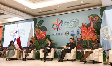 Subsecretario en evento de los ODS