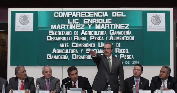 El secretario Enrique Martínez y Martínez enfatizó que se tienen grandes desafíos en el sector agroalimentario