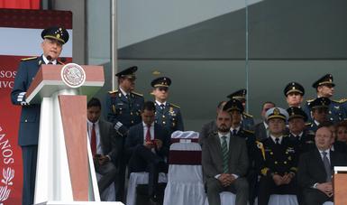 """""""La defensa de la nación y sus instituciones no puede ni debe improvisarse"""", General Salvador Cienfuegos Zepeda."""
