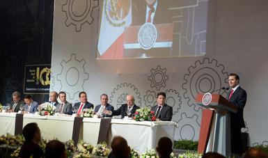 """""""El México de la apertura, de la liberalización de la economía y del desarrollo del capital humano, es completamente distinto al de hace 30 años"""": ENP"""