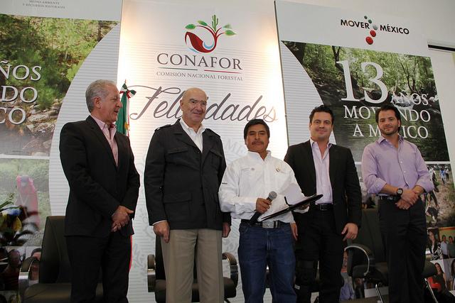 Décimo tercer aniversario de la Conafor.