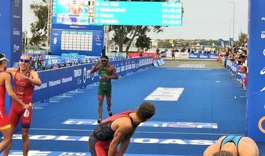 En la justa que se realizó en Gold Coast, Australia, Irving Pérez concluyó en 32