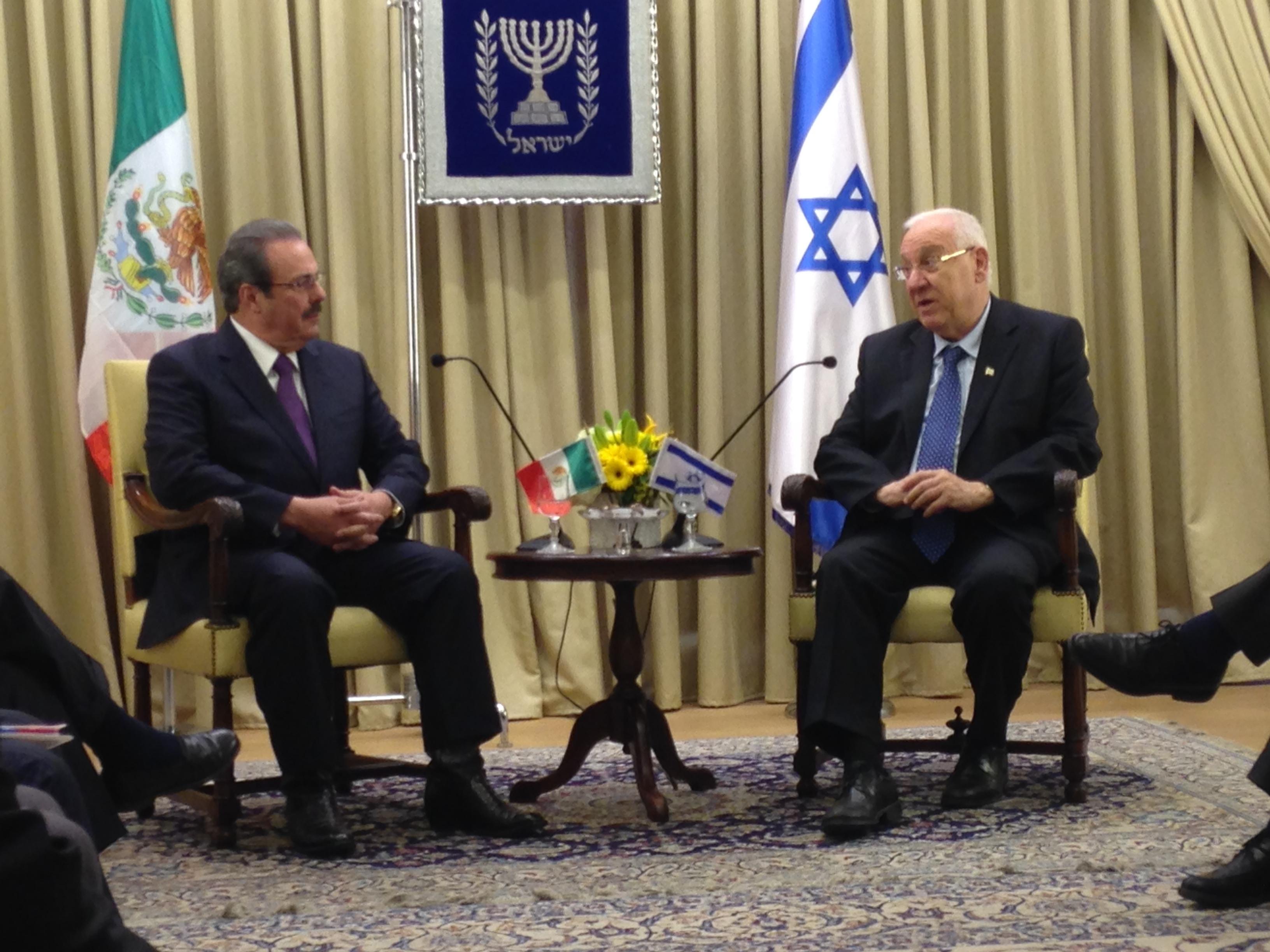 Reconoce Israel desempeño del sector primario de México